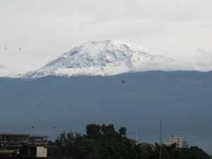 snow on the kilimanjaro