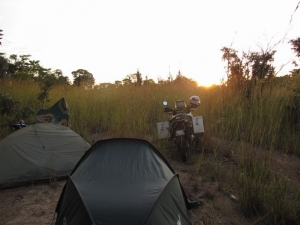 bush camp in zambia