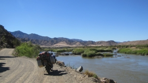 along orange river 1