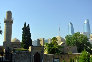 baku old palace and towers